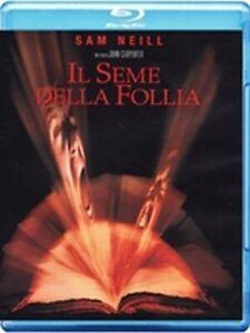 Il Seme della Follia (Blu-Ray Disc) edizione italiana esclusiva DVD TEMPLE