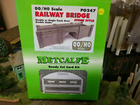 Metcalfe PO247 Railway Bridge stone double track kit OO scale