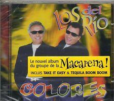 CD 11 T LOS  DEL  RIO  COLORES ( NOUVEL ALBUM DU GROUPE MACARENA) NEUF SCELLE