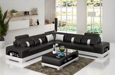 Designer Wohnlandschaft Ecksofa Sofa Couch Big L Form XXL Sitz Garnitur Sandberg