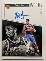 DeAndre Ayton 2018-19 Panini Noir Base Rookie Auto /99 #393 Suns RC HOT🔥