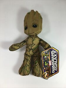"""Marvel Guardians Of The Galaxy BABY GROOT Stuffed Plush 9"""" NWT"""