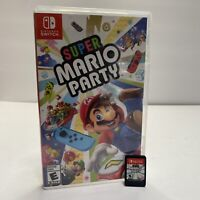 Super Mario Party - Nintendo Switch CIB GREAT CONDITION