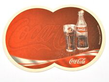 Coca-Cola Coke Double Beer Coasters Coasters Coaster Germany Motif Bottle Glass
