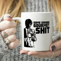 Pulp Fiction Jules Some Serious Gourmet Sh*t Mug White Ceramic 11oz Coffee Cup