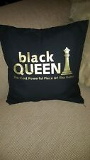 black QUEEN the most powerful piece of the game pillowcase African American