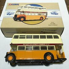 CORGI Guy Arab Autobus Paisley & District Coffret 97313