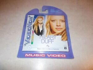 NEW VideoNow Color PVD Disc Hilary Duff Fly