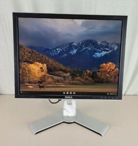 """Dell 2007FPb UltraSharp 20"""" LCD Monitor + Cables"""