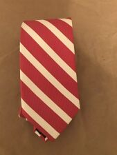 candy striped red white tie