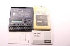 Diario Digital Casio SF-2000-W hecha en Japón Década de 1990