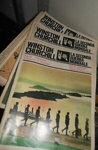 LIBRO:WINSTON CHURCHILL stock fascicoli-LA SECONDA GUERRA MONDIALE ANNO 1
