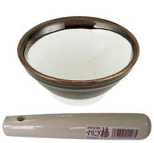 Japanese Suribachi Mortar Cooking Bowl Stick Kitchen Tool Made in Japan DH-2287