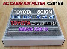 TOYOTA Echo Rav-4 SCION xA xB tC AC CABIN AIR FILTER PREMIUM QUALITY CARBONIZED