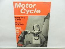 Feb 1965 Motorcycle Magazine Yamaha Sports Twin YDS3 Thruxton Norton L10771