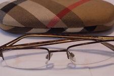 Burberry Men's  B1012 Clear Lens Glasses
