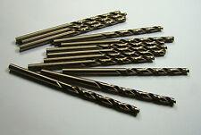 """Cobalt Jobber Length Drills #26 135D Gold 1-7/8"""" LOC x 3"""" OAL QTY 12 -3218E1500B"""