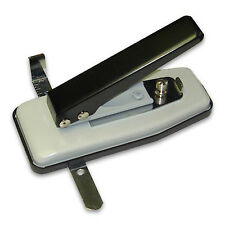 NEW Deluxe Stapler Style Adjustable ID Card Slot Punch -- CSP-G