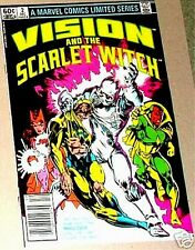 VISION & THE SCARLET WITCH 2 V1 VOLUME 1 1982 AVENGERS 1st SERIES VOL NM