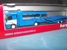 """MB-Actros L  Autotransporter """" egerland """"  Fh.Nr. 215, Herpa 1:87 Art. Nr.146050"""