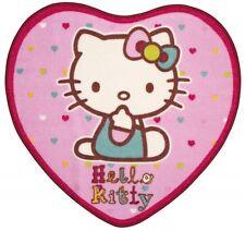 Hello Kitty Folk corazón en forma de alfombra Nueva Regalo