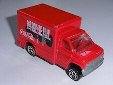 MATCHBOX - FORD BOX TRUCK Coca Cola WERBUNG WERBEFAHRZEUG