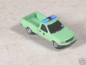 N Scale 1998 Green Ford Park Ranger Pickup Truck
