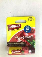 Carmex Click Adhesivo Hidratante Seco y Agrietado Bálsamo Labial Granada SPF15