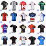 New Cool Mens Cycling Short Sleeve Clothing Tops Riding Jersey 3 Pockets Wear