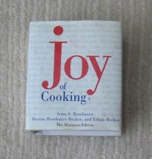 The Miniature Edition Joy of Cooking Rohmbauer Abridged 97 Collectible Cookbook