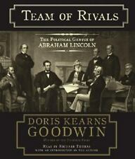 Team of Rivals The Political Genius of Abraham Lincoln CD AUDIOBOOK