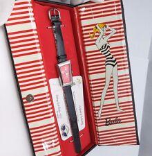 "BARBIE,1959 Mattel""Rare ""Bathing Suit""LE 1-7500 W/Pin,Box Lady/Kids WATCH,R18-07"