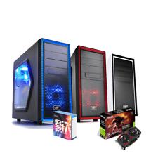PC GAMING DESKTOP INTEL i7-7700K 4.5GHZ SSD 120GB/RAM DDR4 16GB GTX1050TI 4GB