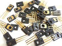 2N4918 Transistor NOS Gold Leads Motorola  BY MOTOROLA 1 Piece