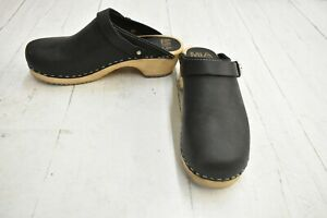 MIA Alma SW225 Clogs, Women's US Size 8M, Black - NEW
