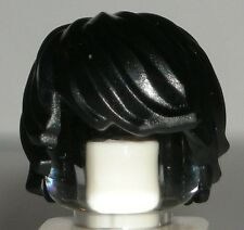 LEGO Black Minifig HAIR NINJAGO Cole Boy Headgear Tousled Side Part 70723 41005