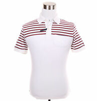 Tommy Hilfiger Men Short Sleeve Stripe Custom Fit Polo Shirt - Free $0 Ship