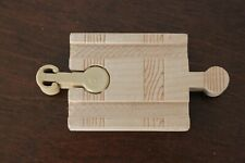 THOMAS WOODEN RAILWAY - MALE Gender Change adapter track 5cm 2inch