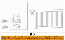 CHRYSLER OEM-A/C AC Evaporator Core 68238602AA