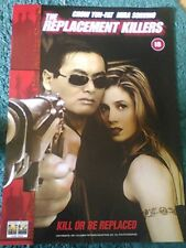 The Replacement Killers ( Yun-Fat Chow, Mira Sorvino) 1998 A2 Movie Poster