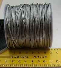 1.2MM X 100M Silver Dyneema® Fiber Synthetic Fishing Winch Marine rope ten:185kg
