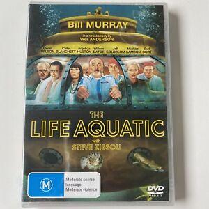 The Life Aquatic - Bill Murray (DVD) Australia Region 4- NEW SEALED RARE