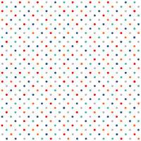 Makower Sea Breeze 1948 B Multi Dot ~ per long quarter.  100% cotton