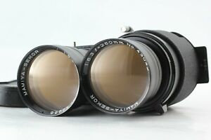 [Near Mint] MAMIYA SEKOR 250mm f6.3 TLR Lens for C330 C220 etc from Japan 2553
