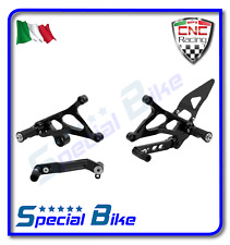 MV AGUSTA BRUTALE 675 / 800 2012 > SET PEDANE REGOLABILI CNC RACING REAR SETS