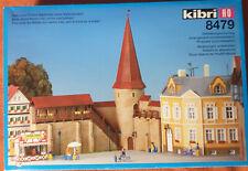 Kibri 8479 Stadtmauer mit Turm H0