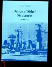 mac-  DESIGN OF SHIPS STRUCTURES, D Chalmers, 1st UK  HBdj VG