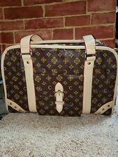 Exquisite Designer Fashion Travel Pet Dog or Cat Carrier Tote Bag Purse 4258