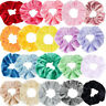 10/20Pcs Women Elastic Hair Scrunchies Velvet Hair Bands Scrunchy Rope Ties Gift