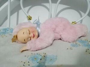 vintage rushton rubber face plush baby